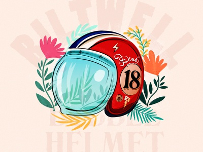 Vintage Biltwell Helmet Design biltwell helmet design tattoo helmet design 18 illustration illustrated