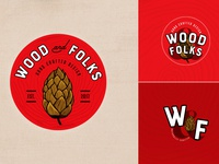 Wood&Folks Logo Design