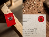 Wood&Folks Label and Paper Design