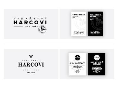 Winery - work in progress wine label winery visual identity