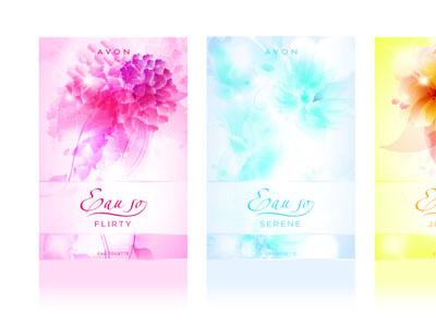 Perfume Packaging perfume fragrance packaging stylised illustration