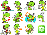 Javi Dino stickers