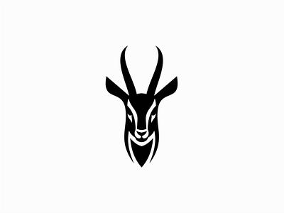 Gazelle animal gazelle design vector animals mark identity logo