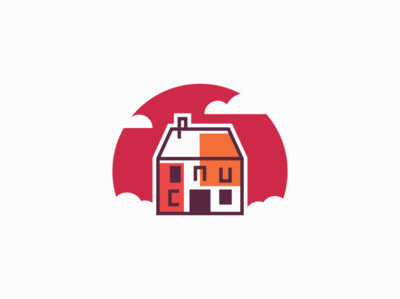House real estate houses house sale symbol geometric branding design vector mark identity logo