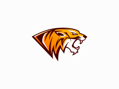 Tiger wild tiger animal illustration sale symbol branding animals design vector mark identity logo
