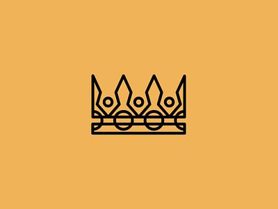 Royal Crown royal crown illustration sale symbol geometric branding design vector mark identity logo