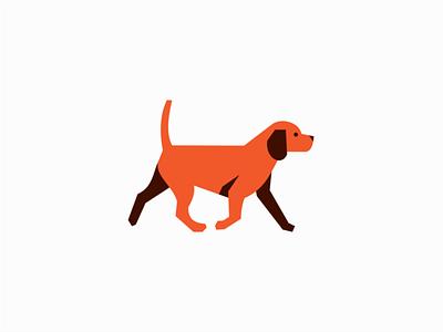 Dog puppy emblem graphic premium clean vet animal pet dog illustration sale geometric animals symbol branding design vector mark identity logo