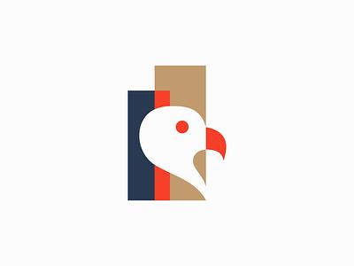 Bird unique creative elegant modern graphic premium clean eagle bird illustration sale geometric animals symbol branding design vector mark identity logo