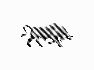 Bull graphic unique original modern premium animal beef cattle ox bull illustration animals sale symbol branding design vector mark identity logo