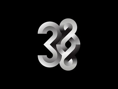 3000 to Infinity icon thank you typography gradient infinity premium modern follower milestone followers 3k illustration symbol design vector mark identity logo