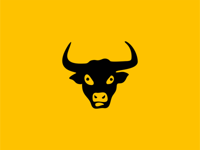Bull Head Logo graphic unique modern head beef animal farm ox bull illustration symbol branding design vector mark identity logo