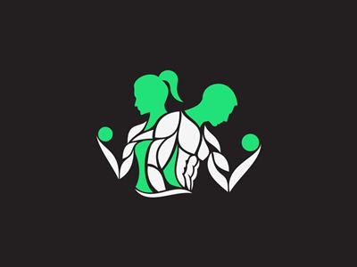 Gym Mark logo identity mark symbol gym fitness sports