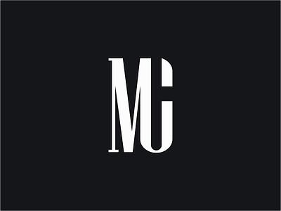 MC monogram mark branding design logo