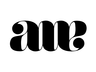 awe type logo letters