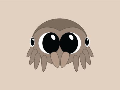 Lucas the Spider illustration spider cute