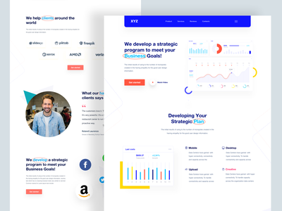 Branding Website #Visual_Exploration trendy design dashboard ui illustration redesign concept responsive website clean website design flat design minimalism website concept graphic design brand design corporate design agency website sass ui  ux landingpage website design design web ui