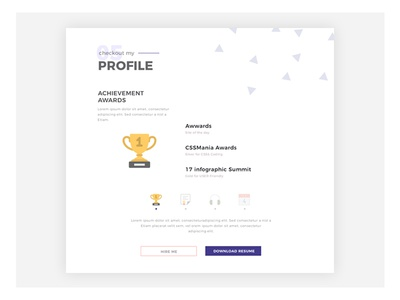 My Achievement