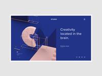 Conceptual Web UI - 3D Studio #Exploration