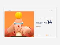 Conceptual Web UI - Designer Profiles #Exploration
