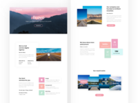 Minimal Agency Landing Page Exploration