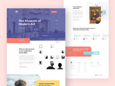 #Exploration   Museum Website
