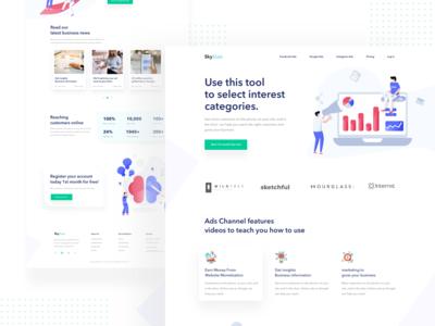 Conceptual Ads optimization Web UI