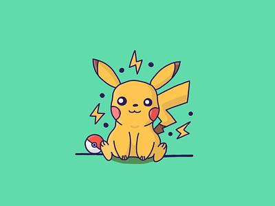 Pikachu Illustration pokemon pikachu concepts illustrations design