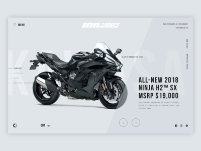 Motorcycles homepage