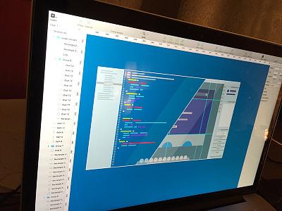 sketching design code sketch mock up