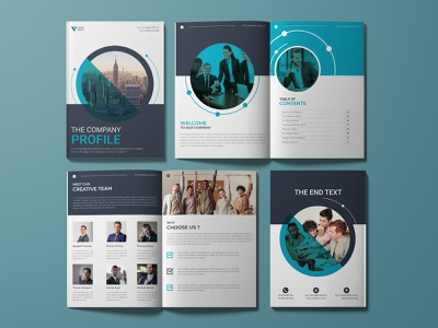 Premium corporate Business brochure, Company Profile minimal design branding brochure template identity proposal booklet annual report company profile brochure design