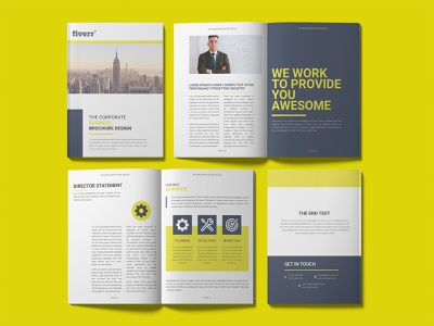 Brochure template design bifold brochure agency brochure agency template project print multipurpose design corporate brochure company profile corporate clean proposal business proposal business brochure design booklet a4 identity branding annual report