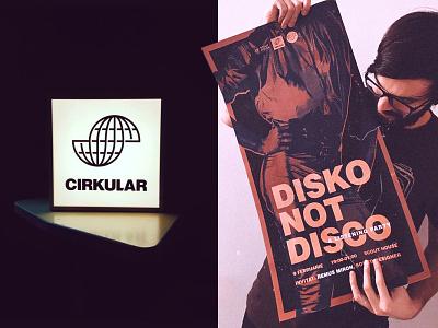 Cirkular (2018) II vector design branding art direction