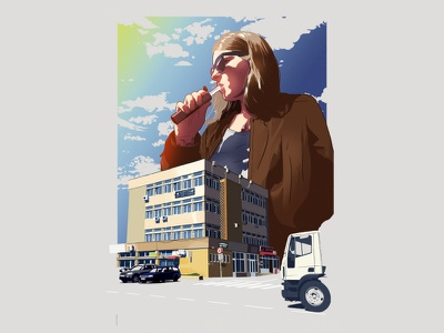 Donath (2020) Final Artwork poster art illustration handdrawn