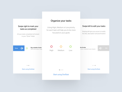 To Do App minimal product design ui design web mobile app ios