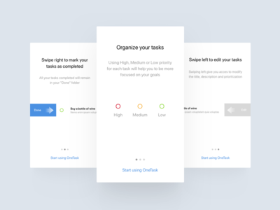 To Do App minimal product design ui design web mobile app ios