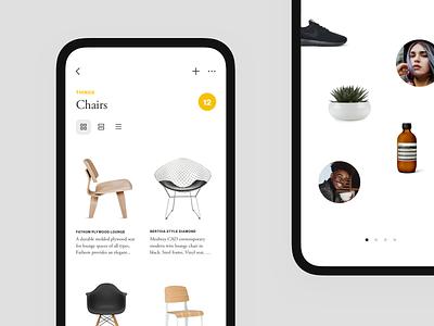 Things Places People — iOS App design app iphone x ios ui design product design minimal