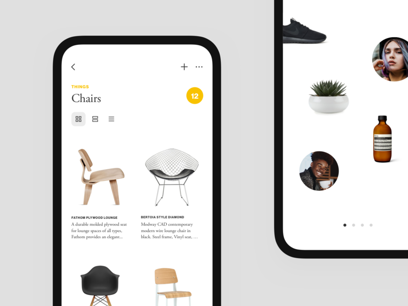 Things Places People — iOS App design app iphone x ios ui design product design minimal
