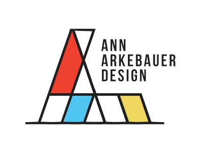 Mondrian Inspired Logo