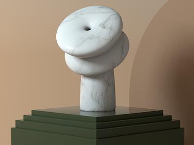 3D sculpture motion design illustrator illustration illust animation 3d art c4d octane octanerender 3d