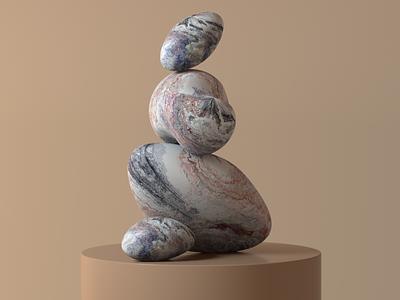 3D sculpture octanerender octane design motion branding c4d 3d animation illustration illust