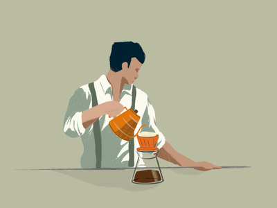 Coffee Break ipadpro pullover dripcoffee illustration coffee