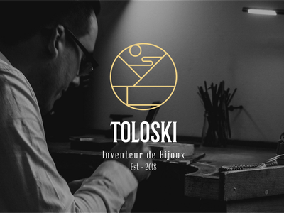 TOLOSKI : Visual Identity monogram graphisme graphism graphiste website visual identity logotype logo webdesig graphicdesign branding