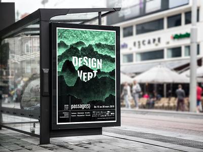 Biennale Design Vert : poster and program toulouse green vert programme program poster design graphicdesign graphism graphiste graphisme biennale