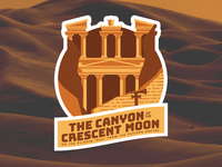The Canyon of the Crescent Moon (or Petra)