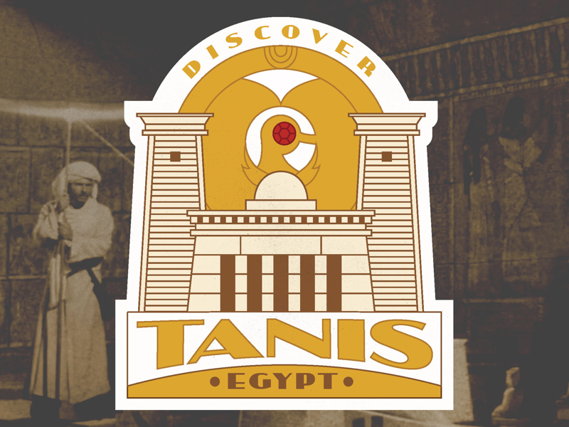 Discover Tanis - luggage sticker indiana jones label luggage illustration sticker vintage