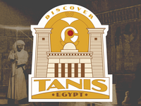 Discover Tanis - luggage sticker