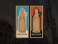 Belgian Speculoos Luggage Label