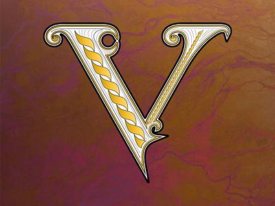 36 Days of Type V illustration handlettered typography lettering artist handlettering alphabet 36daysoftype08 36daysoftype lettering