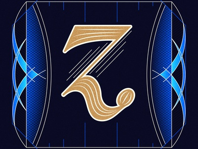 36 Days of Type Z illustration handlettered typography lettering design lettering artist handlettering alphabet 36daysoftype08 36daysoftype lettering