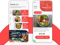Salad bar App Concept